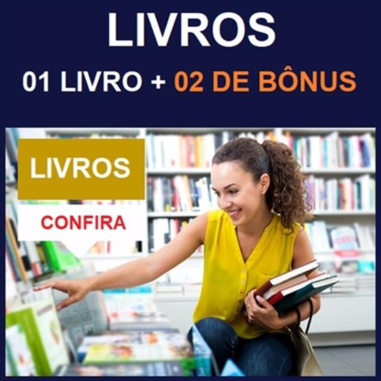 (LIVROS) COMBO: 01 Livro + 02 de Bônus - Entrega via CORREIO